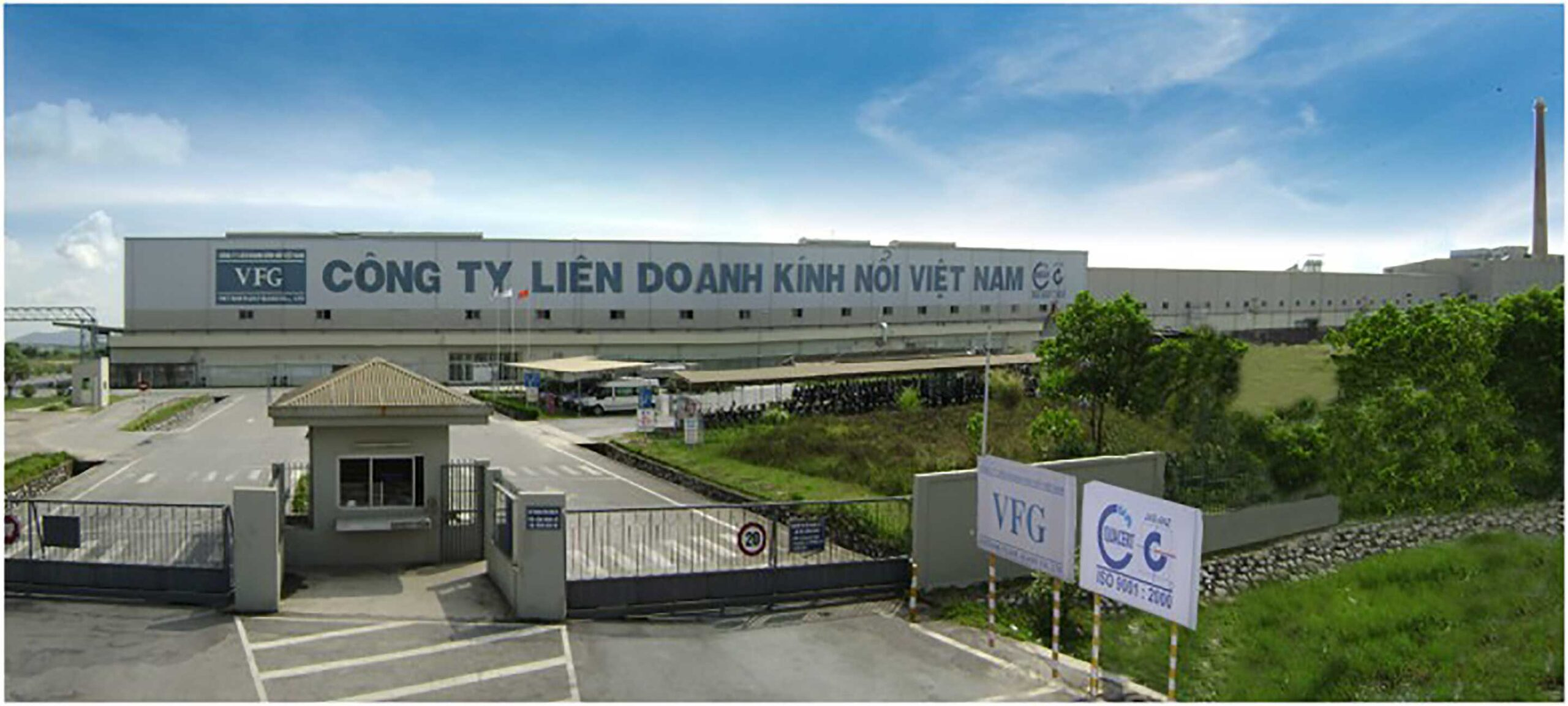 Viet Nam Float Glass Industrial Factory